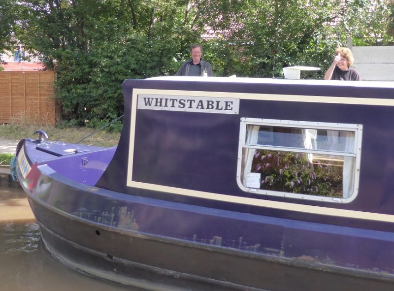 Many interesting boat names - this one's for Mum & Dad